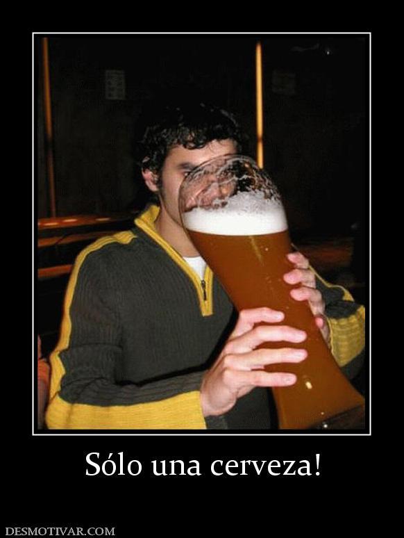 solo nenas una cerveza