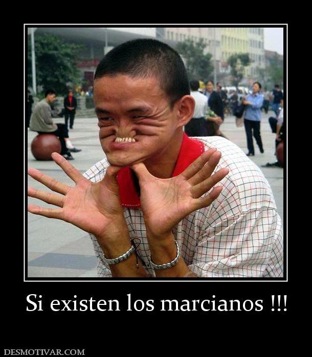Si existen los marcianos !!!