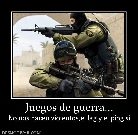 etiquetas juegos guerra juegos de guerra no nos hacen violentos el lag ...