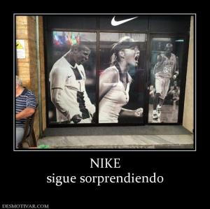 NIKE sigue sorprendiendo