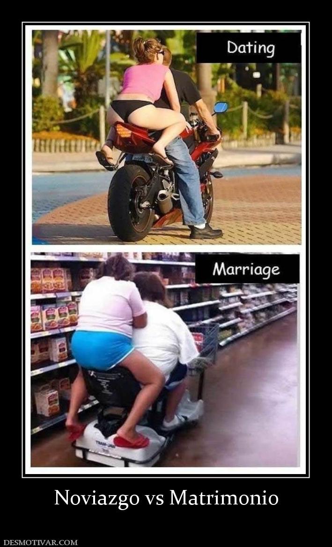 Desmotivaciones Noviazgo vs Matrimonio