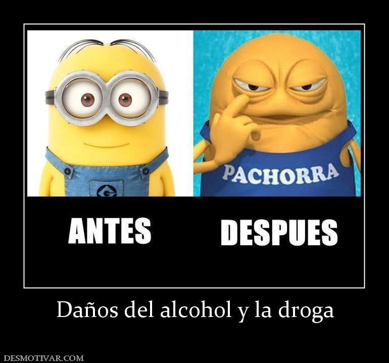 La dependencia narcótica del alcohol