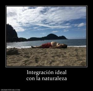 Integración ideal con la naturaleza