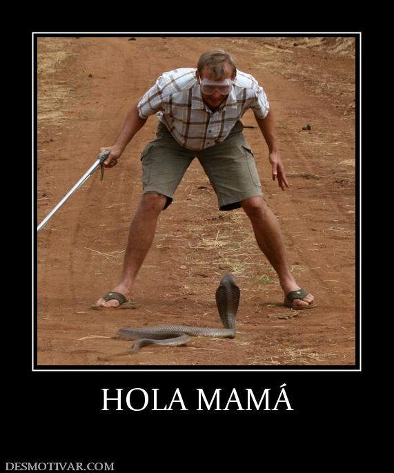 HOLA MAMÁ