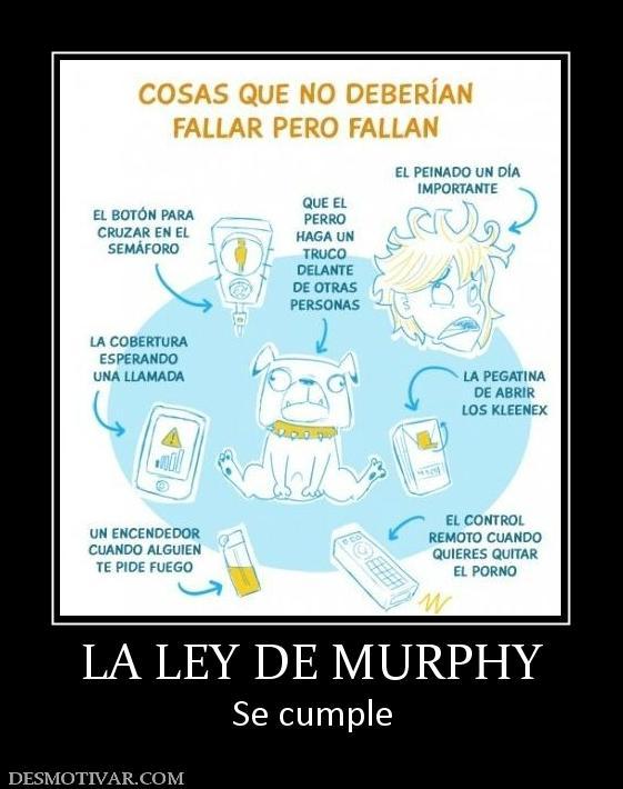 libro leyes de murphy: