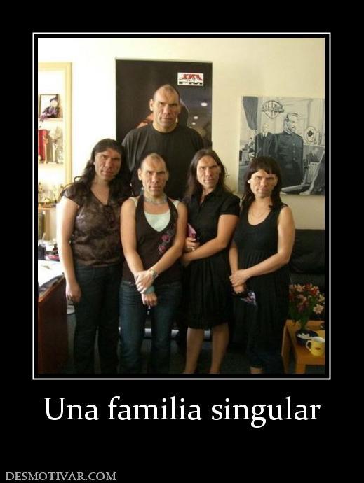 Una familia singular
