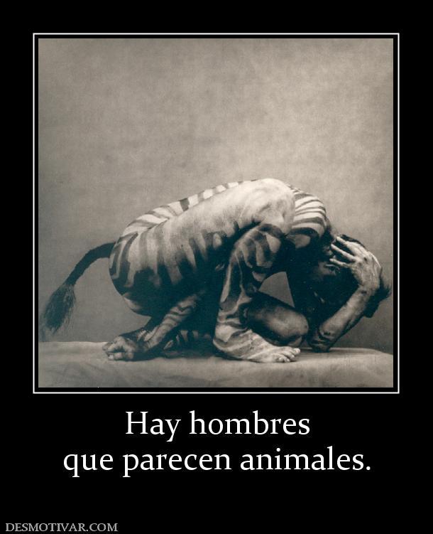 etiquetas animales gente hombres hay hombres que parecen animales ...