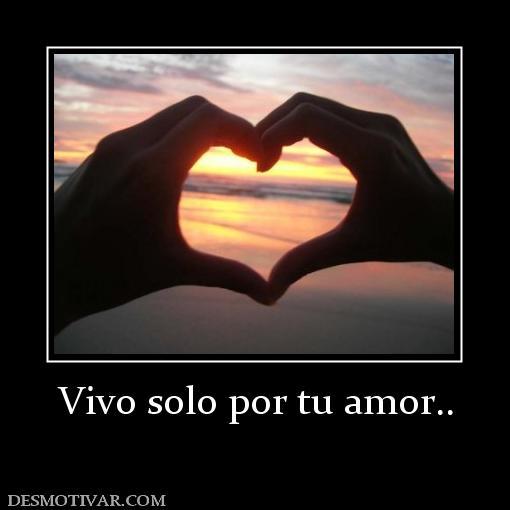 Sólo por Tu Amor