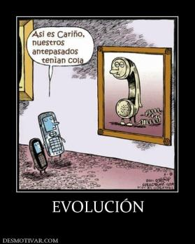 EVOLUCI&Oacute;N