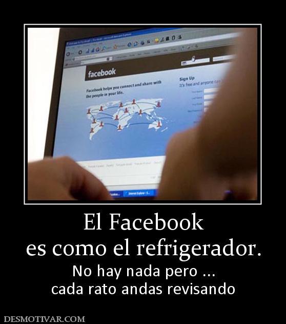 Desmotivaciones Facebook