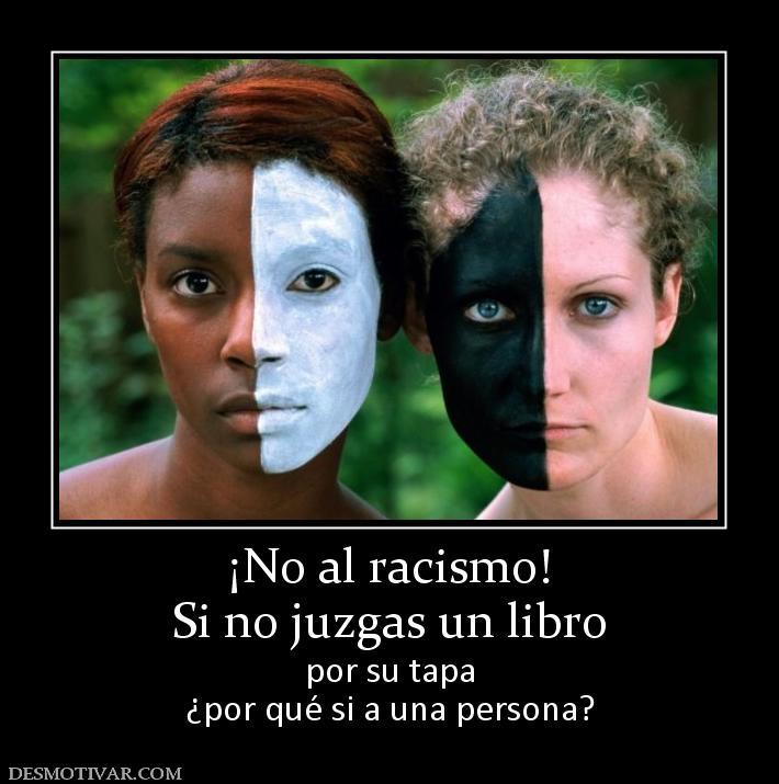 Imagenes del No al Racismo!