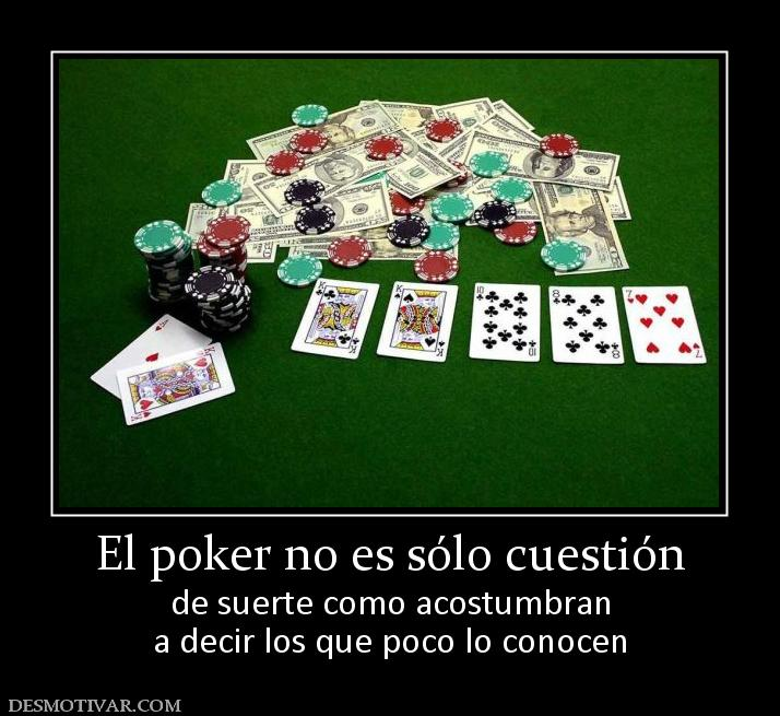 Mensagens de poker