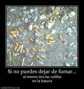 Que tratamientos a dejar fumar