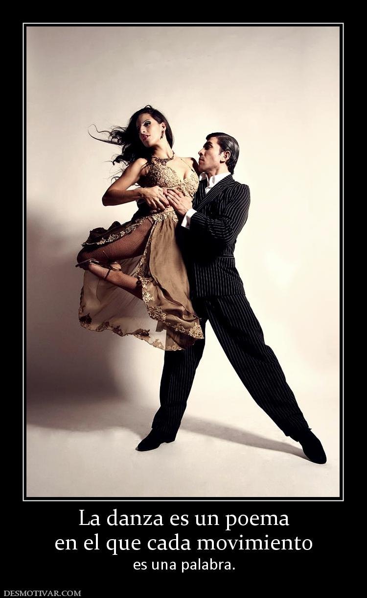 La danza es un poema en el que cada movimiento es una palabra.