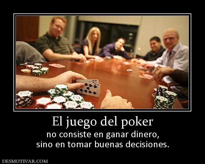 Juego poker en el oeste